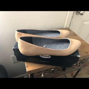 New Comfy Beige Flats